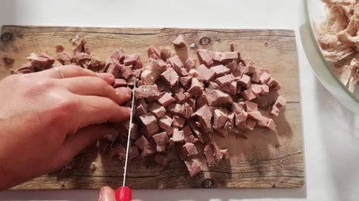 foto carne fatta a cubetti