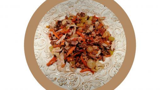 foto Carne lessa in insalata