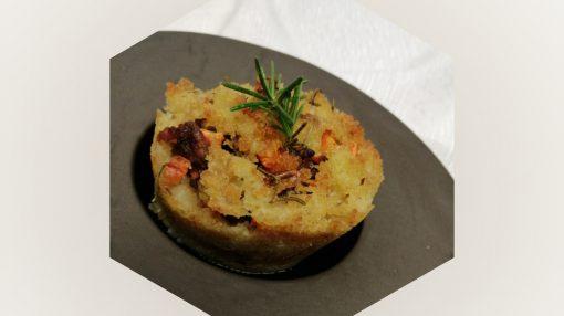 foto patata schiacciata ripiena