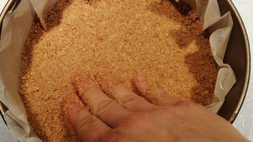 fare base con mani biscotti e burro