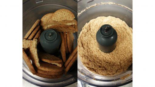 biscotti tritati a mixer