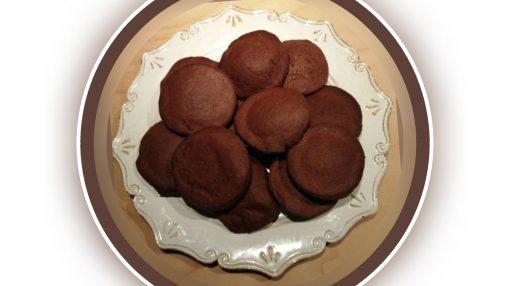 Foto biscotti al cioccolato simili ai grisbi