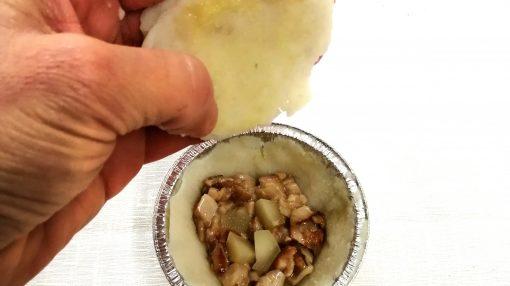 Copertura sformato con patate foto