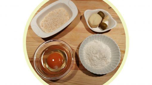 foto ingredienti scamorzine e olive