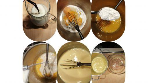 Passaggi crema pasticcera