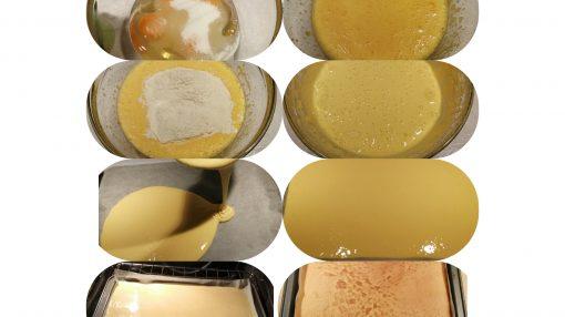 foto passaggi completi Pan di Spagna