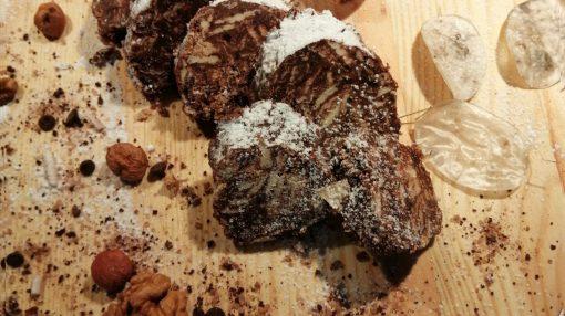 foto Salame di cioccolato