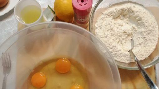 foto ingredienti castagnole