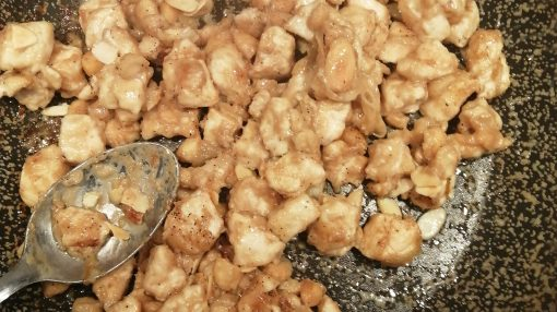 pollo a quasi fine cottura