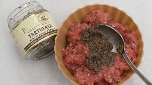 salsa tartufata in macinato