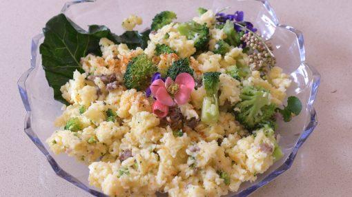 frascarelli con sugo salsiccia e broccoli