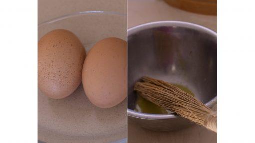 uova in ciotola con limone