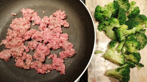 salsiccia e broccoli